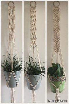 Quality In Independent Macrame Plant Hanger Set Of 5 Indoor Wall Hanging Planter Basket Flower Pot Holder Boho Home Decor Excellent