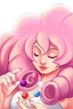 Diamante Rosa - Rose Cuarzo