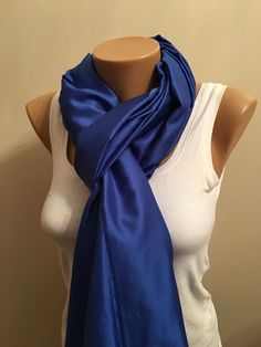 A personal favorite from my Etsy shop https://www.etsy.com/listing/260051069/50-winter-sale-blue-glossy-light-scarf