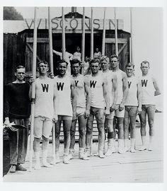 1920s-Wisconsin Rowing Team...