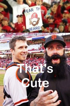 Yeah, that is cute. Wonder who had that first. Oh yeah, the Giants.