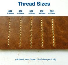 Waxed Linen Thread for Sewing Leather bags - cute bags, bags and accessories, bags and handbags *ad