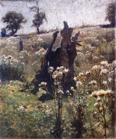 Jan Stanisławski ,1885. Polish, 1860-1907 Oil on canvas