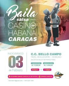 @habanacaracas INICIAMOS el Taller de Salsa Casino para PRINCIPIANTES (Básico 1) el Viernes 03 de Febrero #habanacaracas #yosoyhc #hc #losbergantes #salsacasino #principiantes #basico1 @salsacasinovenezuela #salsacasinovenezuela @bailaenvenezuela #bailaenvenezuela - #regrann