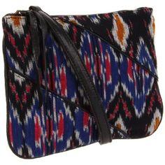Bryna Nicole Bay Bag Cross Body,Blue,One Size $85.00