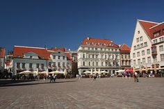 Tallinn is the capital of Estonia and a port on the Baltic Sea.