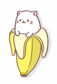 Cupcakes Desenho Kawaii New Ideas Chat Kawaii, Kawaii 365, Kawaii Chibi, Kawaii Cute, Kawaii Anime, Kawaii Doodles, Cute Kawaii Drawings, Cute Animal Drawings, Cute Doodles