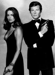 Roger Moore & Barbara Bach