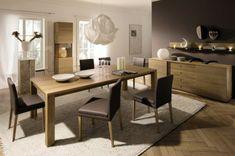 Ideen für das Esszimmer Design von Hulsta - braune Möblierung