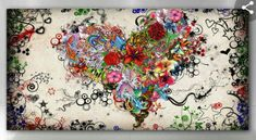 Challenge yourself with this So beautiful jigsaw puzzle for free. Timeline Cover Photos, Facebook Timeline Covers, Online Florist, Heart Painting, Fb Covers, Book Covers, Wallpaper Free Download, Love Wallpaper, Heart Art