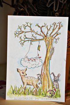 Ilustration of a Luckybug by Hrandica  SREČNOLONICA LJUBLJEN DOJENČEK https://www.facebook.com/HrANDMADE-by-Hrandica-142051469180427/