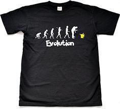 4c4825b0 Pokemon GO Evolution Funny Parody Black T shirt Child Medium 9 11 Years