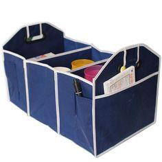 b4d22cf3a0b Home Storage Box basket Multipurpose Car Trunk Organizer Auto Boot Bag Tool  Folding Styling Interior Accessories