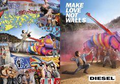 Make Love Not Walls | Clube de Criação
