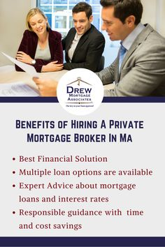 Benefits of hiring a mortgage broker in MA. #mortgagebroker