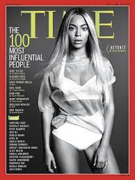 Beyonce on the cover of Time magazine