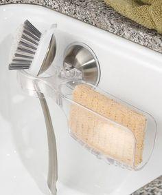 Look what I found on #zulily! Power Lock Sink Cradle & Brush Holder #zulilyfinds