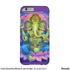 Lotus Ganesha iPhone 6 case Lucky Hindu Elephant http://www.zazzle.com/lotus_ganesha_iphone_6_case_lucky_hindu_elephant-256563601741429835?design.areas=%5Bapple_iphone6_barelythere_front%5D&rf=238588924226571373
