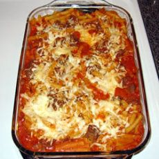Baked Pasta With Ground Beef Recipes | Yummly
