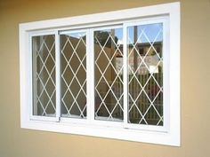 This sliding windows is genuinely a notable style technique. Iron Window Grill, Window Grill Design Modern, House Window Design, Balcony Grill Design, Grill Door Design, Door Gate Design, Sliding Windows, Windows And Doors, Front Wall Design