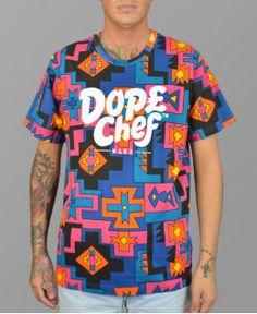 Dope Chef Multi Colour Dela Soul T-Shirt #DopeChef