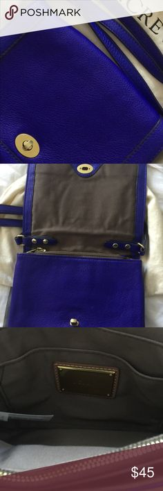 JCrew leather handbag with dust bag Lovely leather handbag. Great condition. Hardly used. Cloth storage bag and strap included jcrew Bags Crossbody Bags