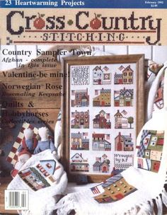 Gallery.ru / Фото #1 - Cross Country Stitching 1992-02 Feb - tr30935