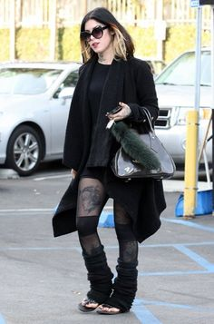 Kat Von D - Kat Von D Getting A Coffee In West Hollywood