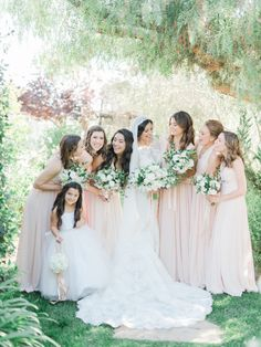 Bridesmaids style! Photography: Anya Kernes - http://www.anyakernesphotography.com/