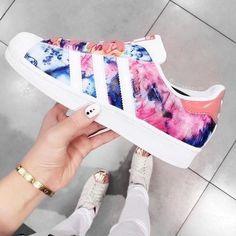 adidas, art, artsy, blue, brand - image #4116916 by marine21 on ...
