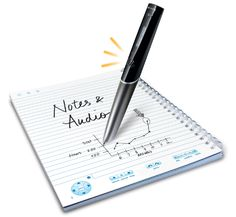 Livescribe - this is innovation, not like Samsung Note that's proposing paradigm from the '90s!