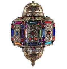 Lámparas árabes, turcas o marroquíes: armonía y belleza de colores #iluminacion #decoracion #lamparas