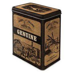 Nostalgic Μεταλλικό κουτί μεγάλο John Deere John Deere Genuine