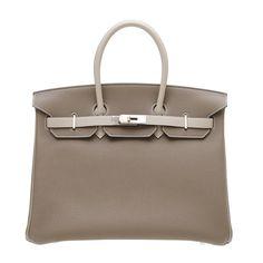 ec924a8cc4 Alessandra Ambrosio wearing Hermes Birkin Bag in Etoupe with Palladium  Hardware