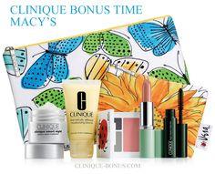 Clinique Bonus Time (cliniquebonus) on Pinterest