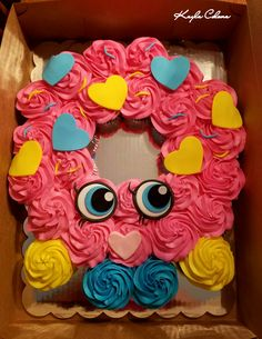 Shopkins cupcake cake! #shopkins