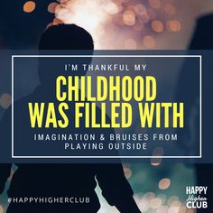"""🙏🙏 · · · """"I'm thankful my childhood was filled with imagination and bruises from playing outside. Focus On Yourself, How To Better Yourself, Work Friends, We Are A Team, Someone Like You, New Journey, Staying Positive, Mindful Living, Happy Moments"""