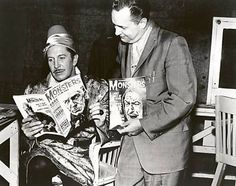 Forry and Vincent Price.