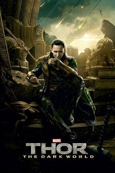 Thor - The Dark World - Loki - Official Poster. Official Merchandise. Size: 61cm x 91.5cm. FREE SHIPPING