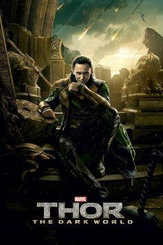 Thor - The Dark World - Loki - Official Poster