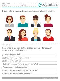 Spanish Teacher, Spanish Classroom, Teaching Spanish, Spanish Lessons Online, Descriptions Of People, Activities For Adults, Brain Gym, Spanish 1, Brain Training