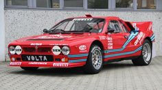 Lancia 037 rally with ECV Volta colors