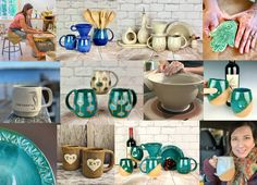 updated my postcards to include my new teal line, including my new MidMod mugs that I will be releasing soon! Please visit fernstreetpottery.com for the full lineup! #pottery #ceramics #handmade #coffee #maker #pnw #localartist #kitsap #madeinpnw #mcm #midmod #madeinusa #giftideas #shoponline #studiolife #potter #thisismyjob #cottagecore #coffeetastesbetterinahandmademug