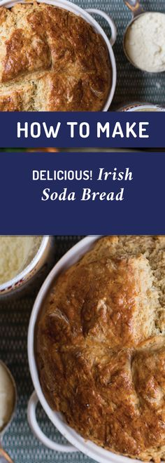 Perfect for St. Patrick's Day or any occasion. Cultured Buttermilk, Buttermilk Recipes, Soda Bread, Tortillas, Casserole Dishes, Baking Soda, Breads, Muffins, Irish