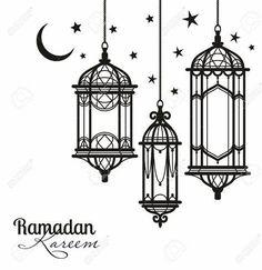 Ramadan Cards, Ramadan Images, Islamic Art Pattern, Pattern Art, Hanging Lanterns, Paper Lanterns, Lantern Drawing, Decoraciones Ramadan, Lantern Tattoo