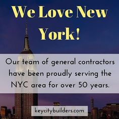 Your local trusted renovation and construction experts!  KeyCityBuilders.com  #commercialrenovation #residentialconstruction #homerenovations #nyc #newyork