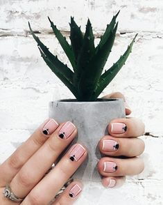 Learn something new and create unique spring nail designs in 2018 ❤ Find the great nail art ideas for spring ❤ Check out our gallery with more than 60+ images for your inspired ❤ Our easy video tutorial help you to make cute spring manicure right at home ❤ See more at LadyLife #NaturalNails