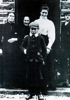 The young Michael Collins.