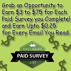 Paid Survey List | Closet of Free Samples | Get FREE Samples by Mail | Free Stuff