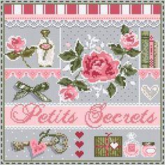 MINI Petits Secrets (grille) - Madame La Fée